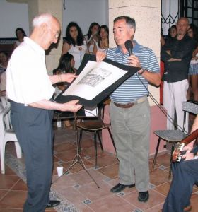 David Hurtado con Eugenio González